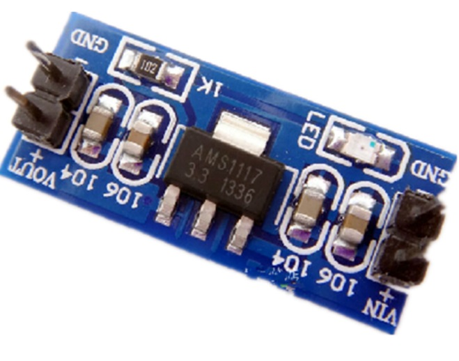 DC 5V to 3.3V Step-Down Power Supply Module AMS111