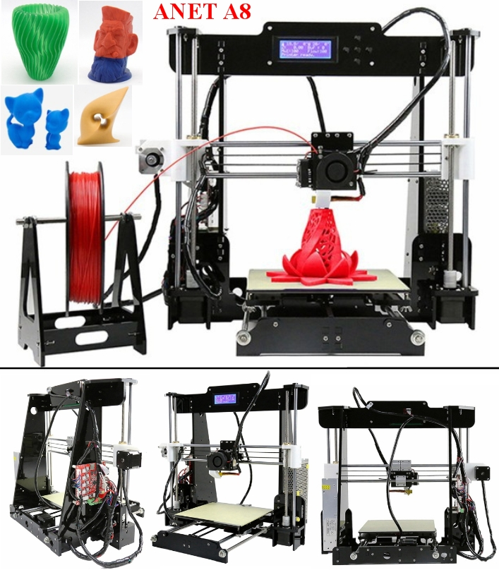 CTC A8 Anet Desktop 3D Printer ARR version Almost