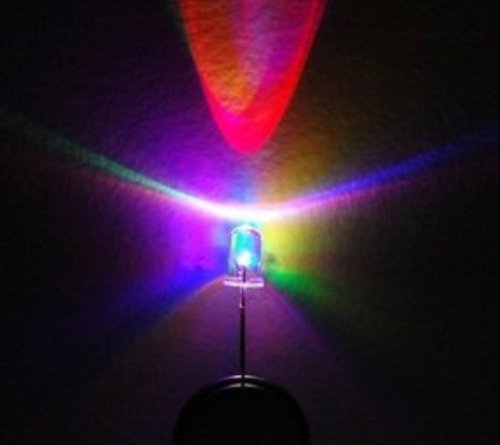 5mm RGB LED auto color changing flashing light
