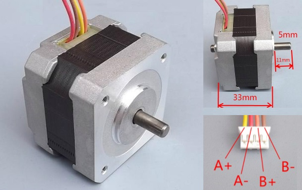 42 stepping motor 2.8kg.cm CNC 3D printer