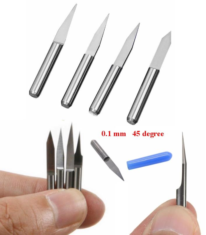 0.1 45 Degree PCB Engraving V-shape Bit 3.175mm