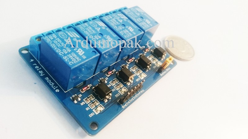 4-Channel 5V Relay Module or bridge for motor With