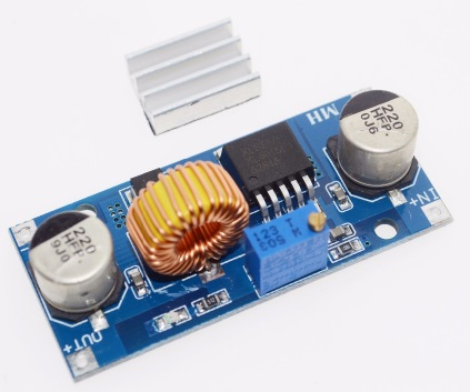 5A XL4015 DC-DC Step Down Adjustable Power Supply