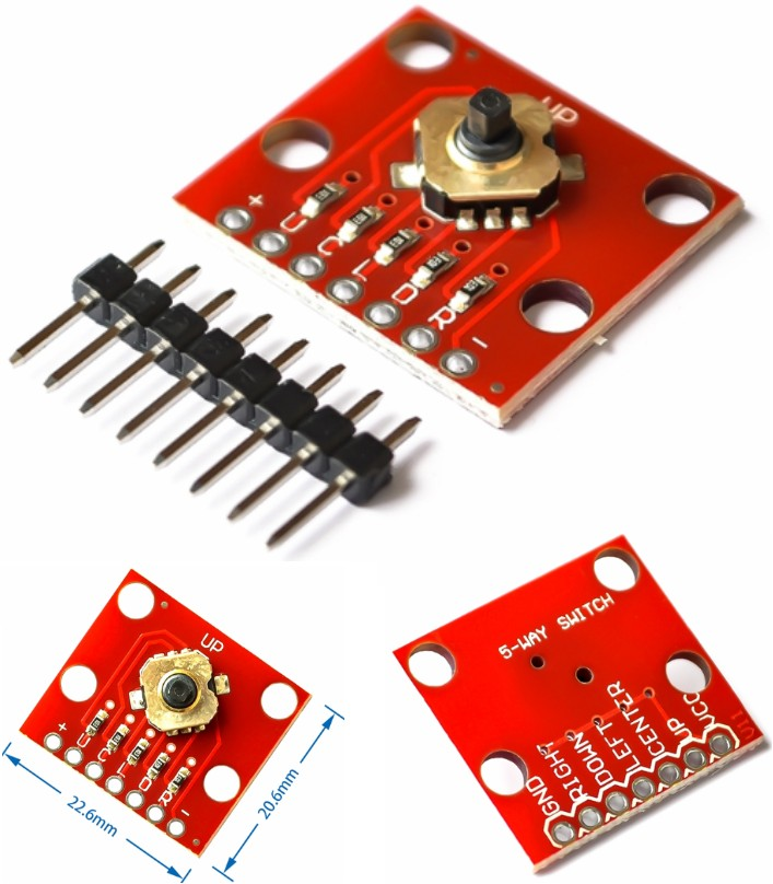5 Way Tactile Switch Breakout module
