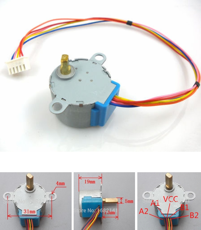 28BYJ-48-5V 4-Phase 5-Wire Gear Stepper Motor
