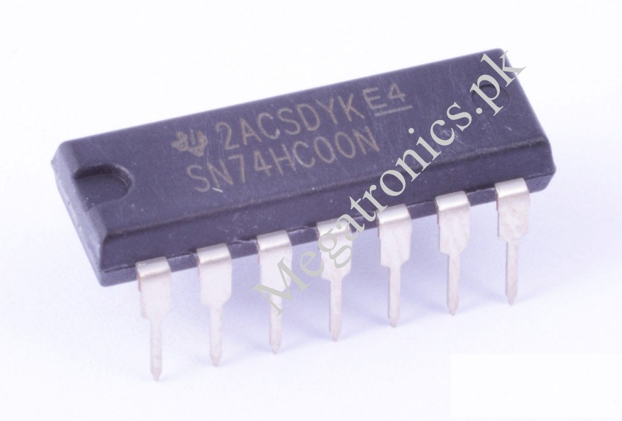 74HC00 Logic IC Quad 2 input NAND gate 7400