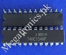 MM74HC154N 73154 4 to 16 line decoder demultiplexe