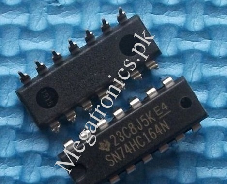 74HC164 8bit Serial-In/Parallel-Out Shift Register