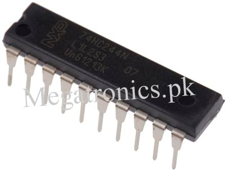 74HC244N Octal Buffer and Line Driver 3 State