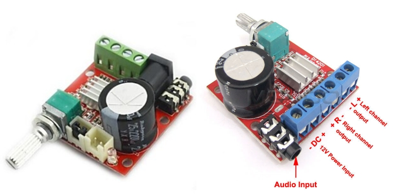 Mini Digital audio Amplifier Module 10W+10W Class