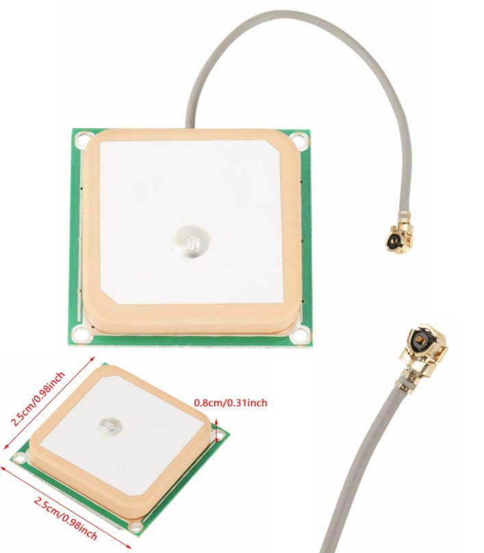 28dB High Gain GPS Active Antenna Ceramic w/ Cable