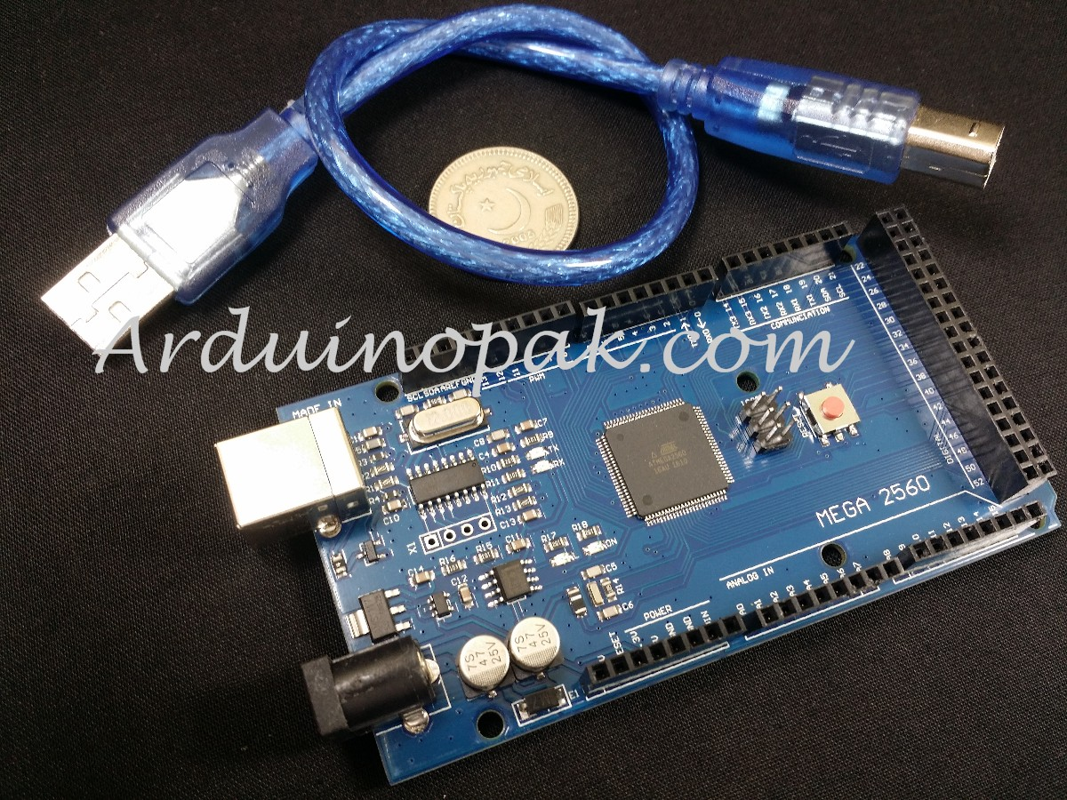 Arduino Mega 2560 R3 with USB cable (clone)
