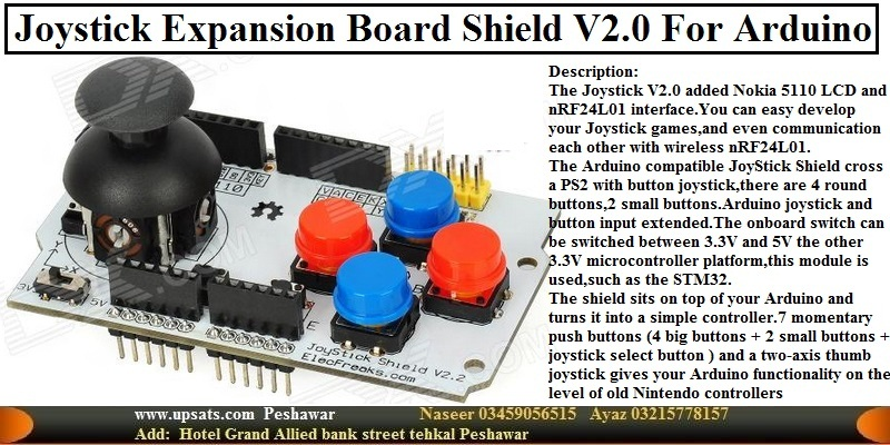 Joysticks Expansion Board Joystick Shield V2.0 For