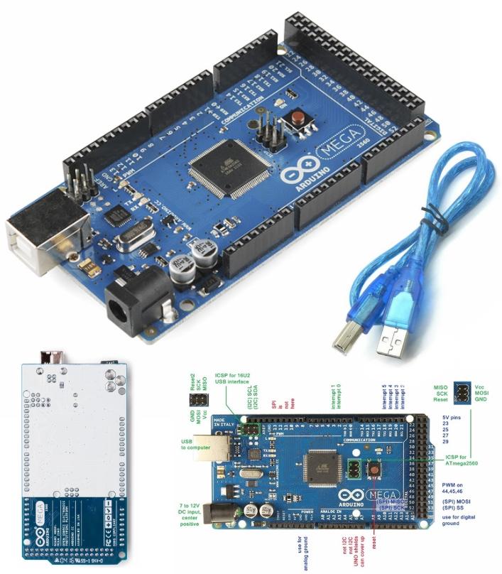 Arduino Mega 2560 R3 with USB Cable (Original)