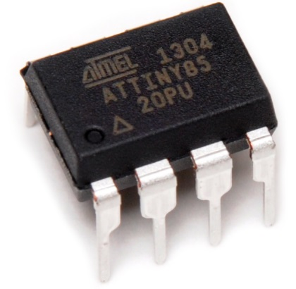 ATTINY85-20PU DIP Atmel 8KB flash Microcontroller