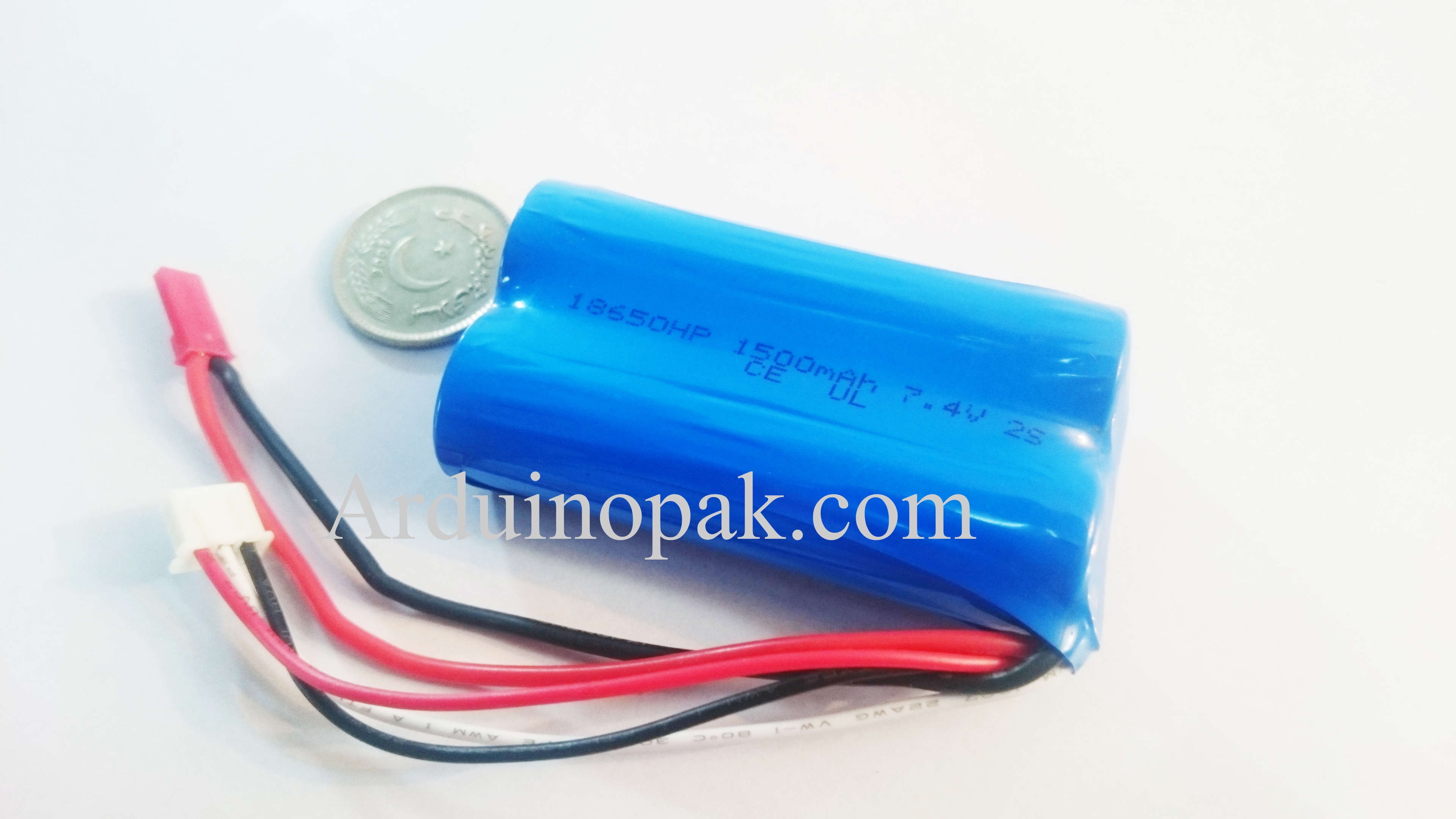 7.4V 1500mAh 25C Lipo battery