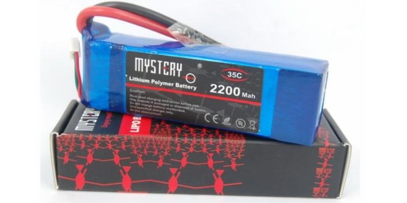 Lipo Futaba battery 3S 11.1v 2200 mAh 8C