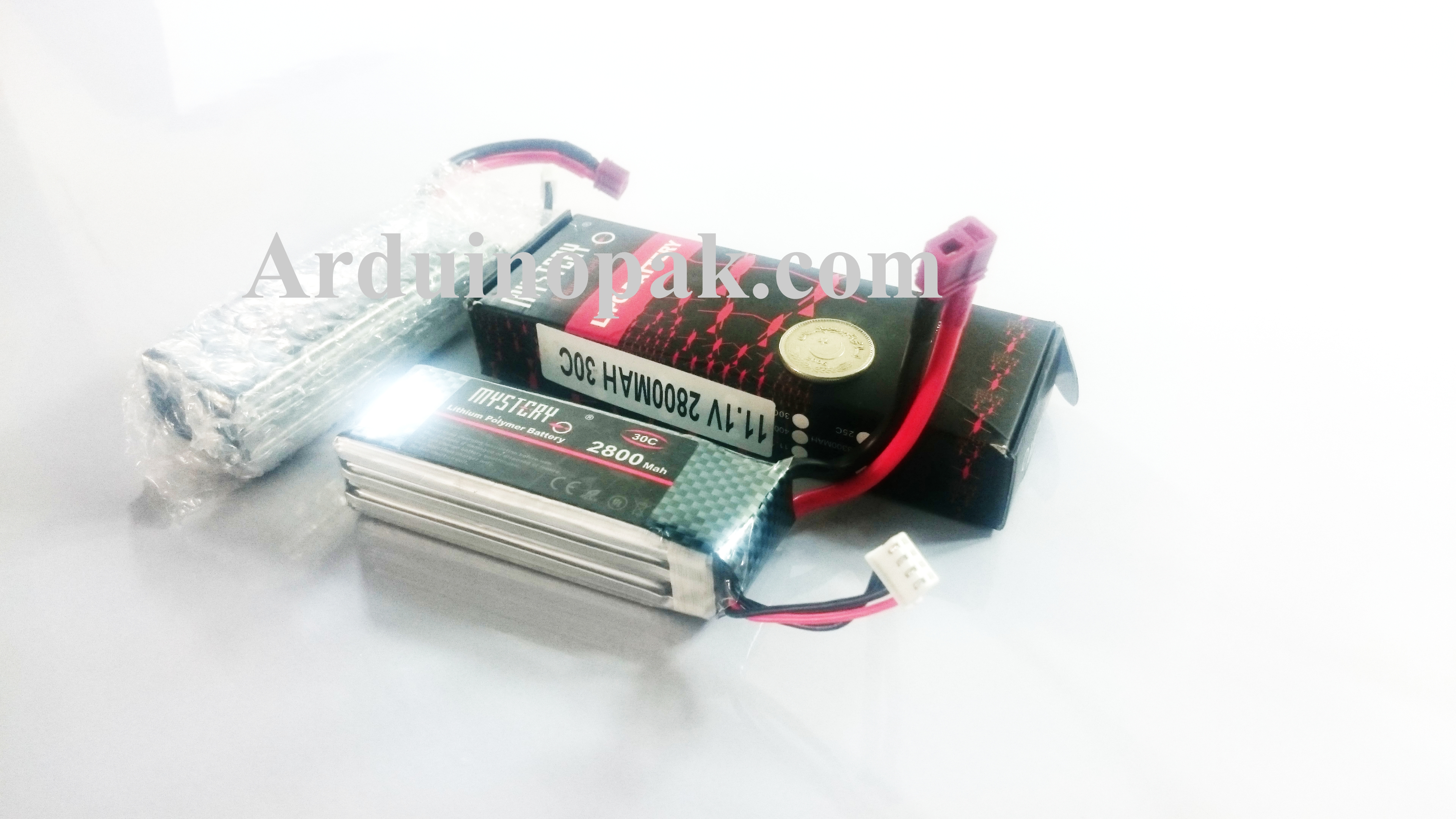 Li-Po Battery 2800mAh 11.1v 3S1P 30C Rechargeable