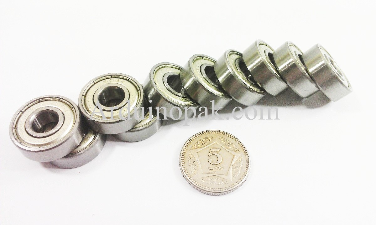 Ball Bearing Non Flanged  8mm Bore, 22mm OD