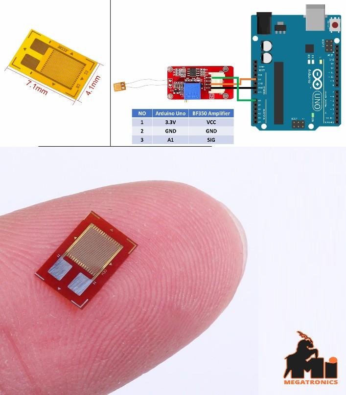 BF350 Precision Strain Pressure Sensor Resist