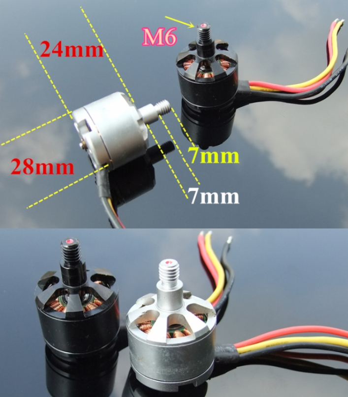 CW+CCW 920KV brushless motors 2212 multi-rotor (Us