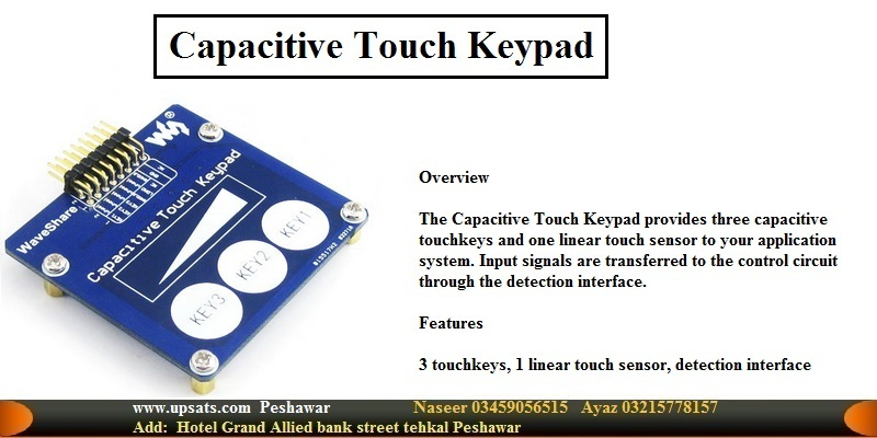 Capacitive Touch Keypad Development Board Module K