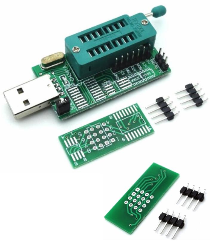 Programmer Ch341a 24 25 EEPROM Flash Bios DVD USB