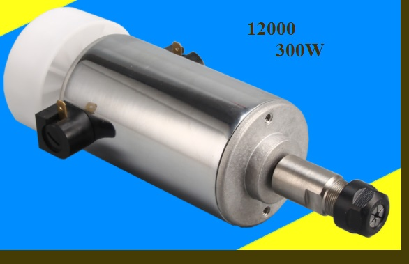 CNC 300W high speed Spindle motor engraving