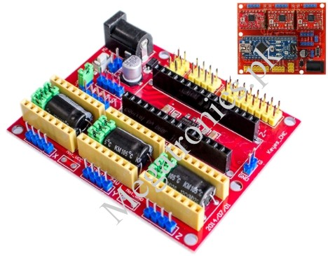CNC 3D printer Shield V4 A4988 Nano Expansion Boar