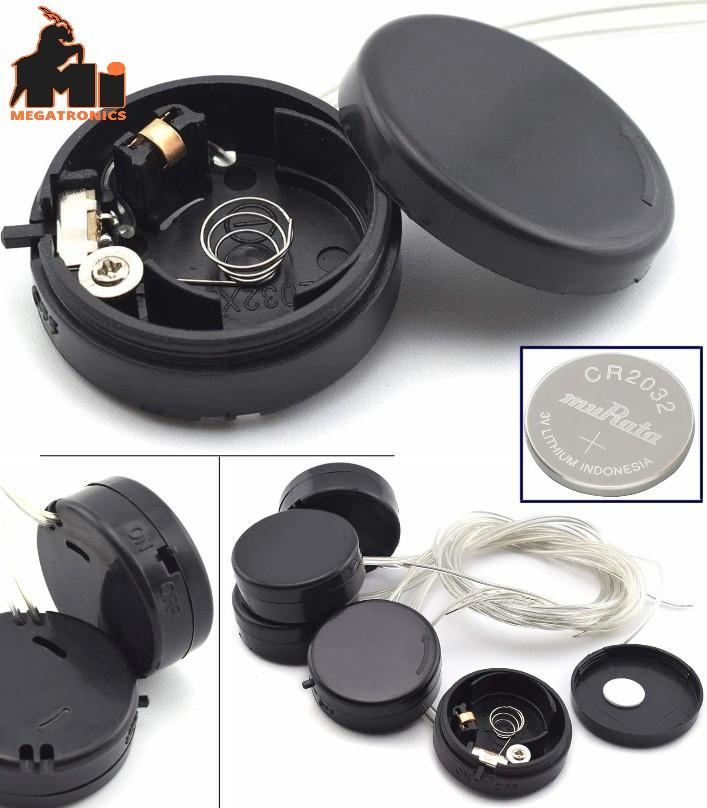 CR2032 Coin Button Cell Battery Holder case SDTC 6