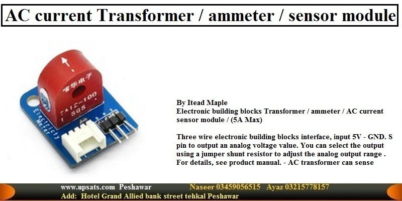 AC 5A Non-invasive AC Current Transformer Sensor