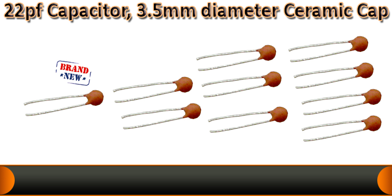 22pf Ceramic Capacitor for micro controller