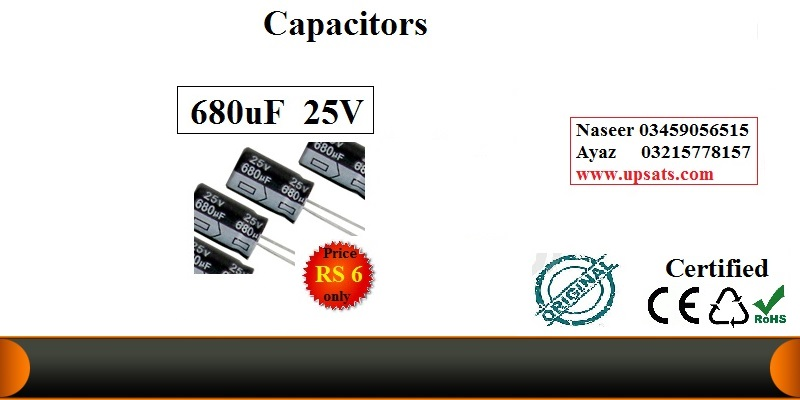 Electrolytic Capacitor 680uF/25v