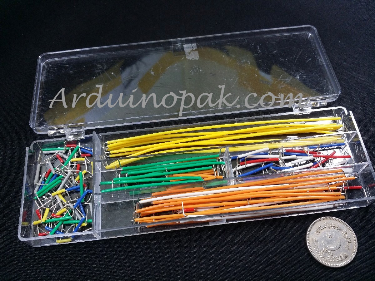 Breadboard Jumper Cable Wire Kit X 140 W Box For A
