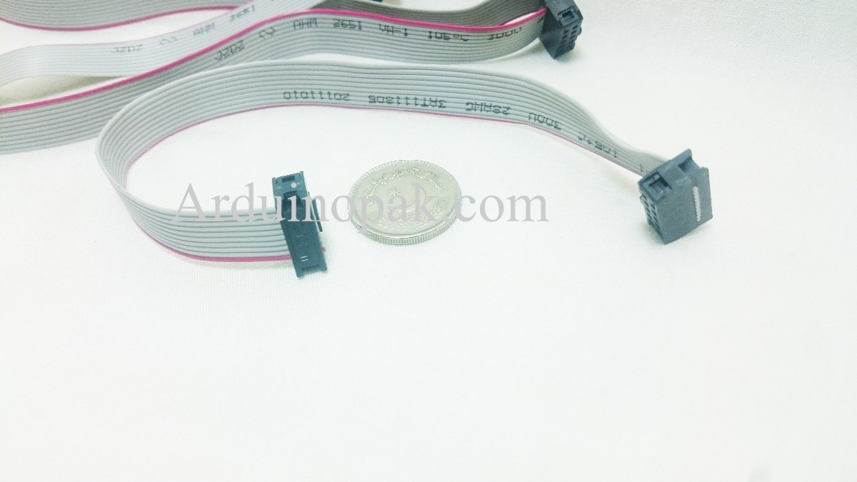 10 pin Socket data cable  Socket IDC cable