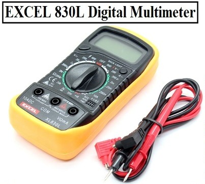 XL830L Testing LCD Digital Multimeter buzzer