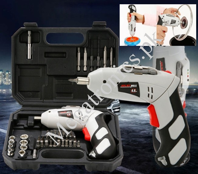 45PC cordless reversible rechargeable drill 4.8v s