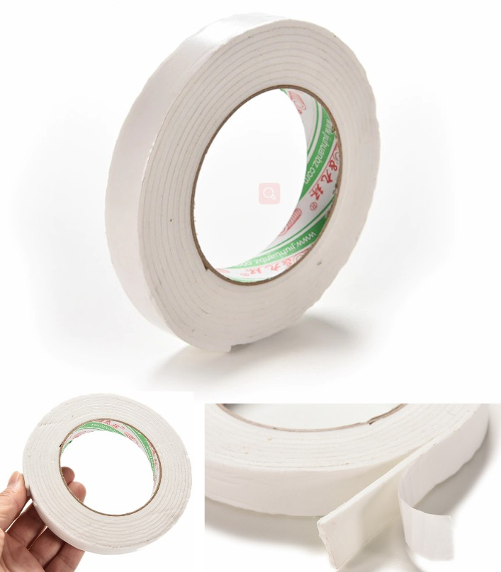 double sided adhesive foam tape 3Meter