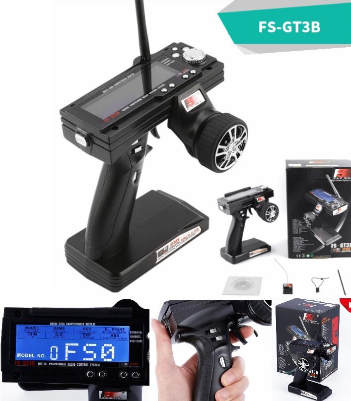 Flysky FS-GT3B 2.4G 3CH Remote TransmitterReceiver