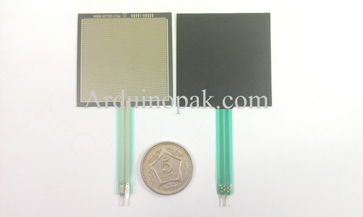 FSR406 Force Sensing Resistor Sensor Series Square