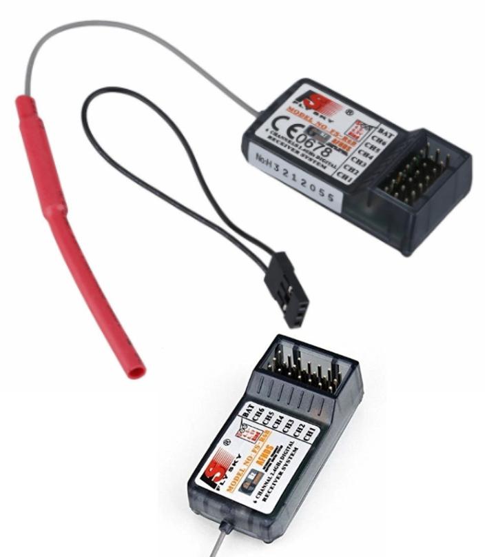 FlySky FS-R6B 2.4G AFHDS 6 Channel Receiver