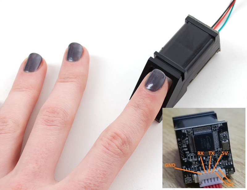 Fingerprint Recognition Module FPM10A sensor