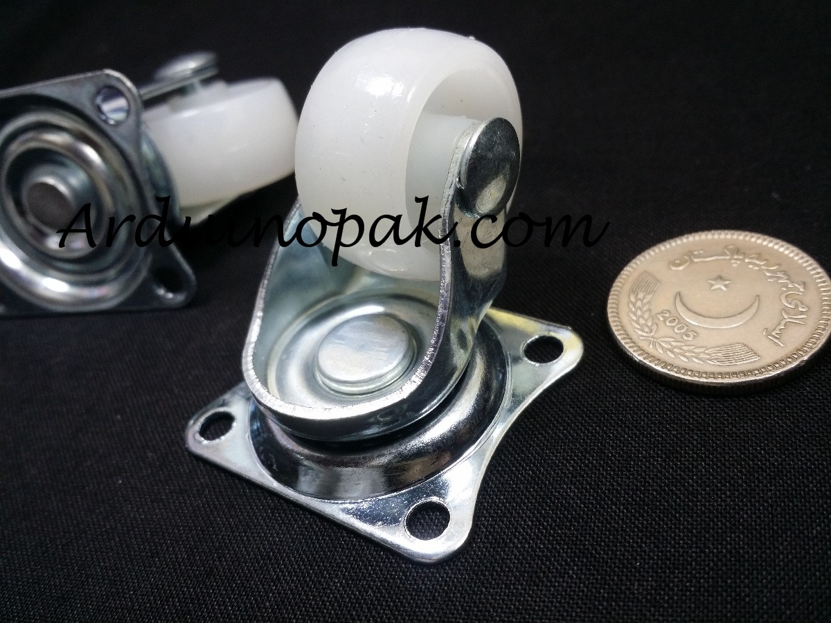 Small Swivel Caster free Wheel for robot platforms