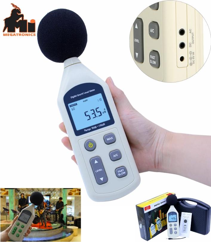 GM-1357 Digital Sound Pressure Level Noise Decibel