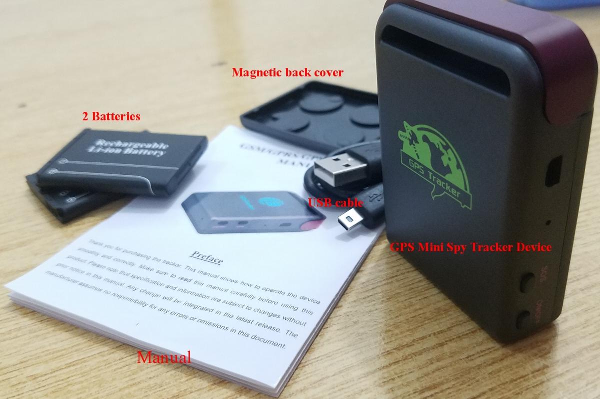 Spy Mini Real time GPS QUAD BAND Vehicle Tracker