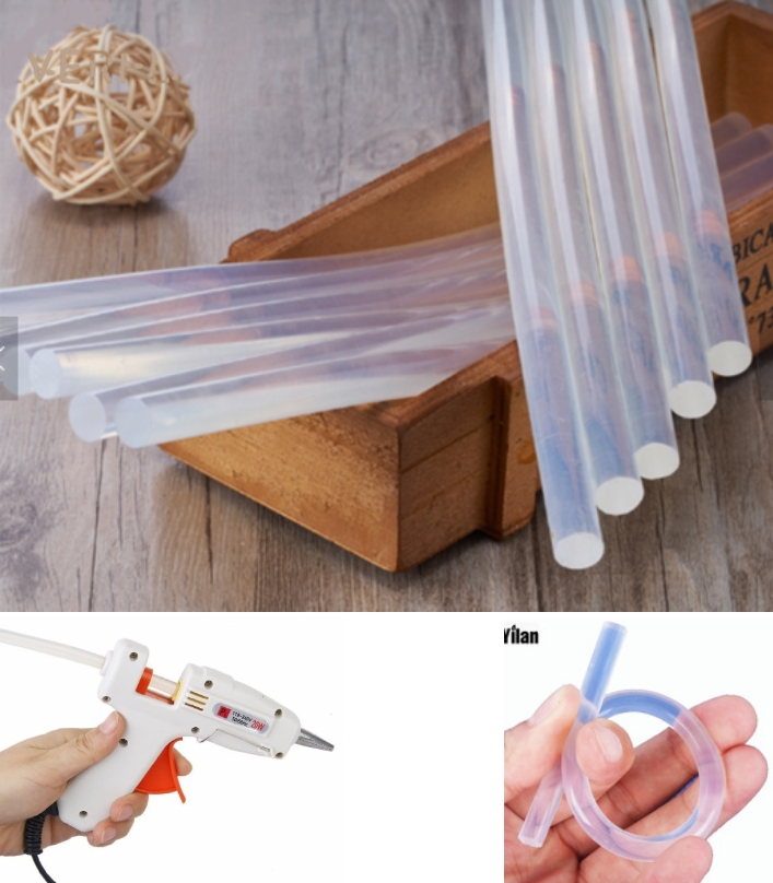 11mm transparent Hot Glue Stick Adhesive Rods Hot