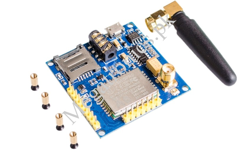 A6 GPRS SIM900A GSM MODEM MODULE SMA ANTENNA