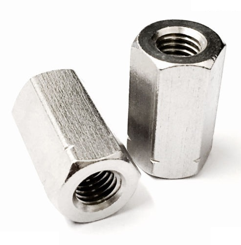 Hexagon rod nut spacer 10mm coupling