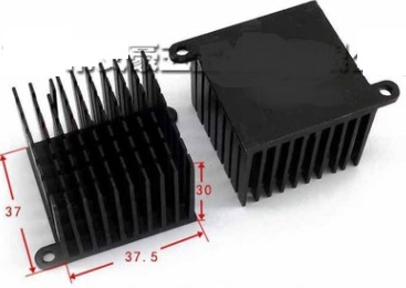 37x37.5x30mm IC Heat sink Aluminum Cooling