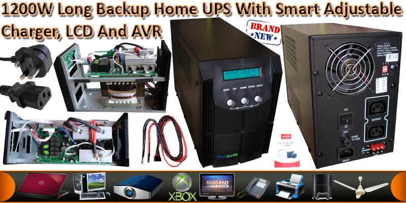 2000VA/1200Watts Pure Sine Wave UPS